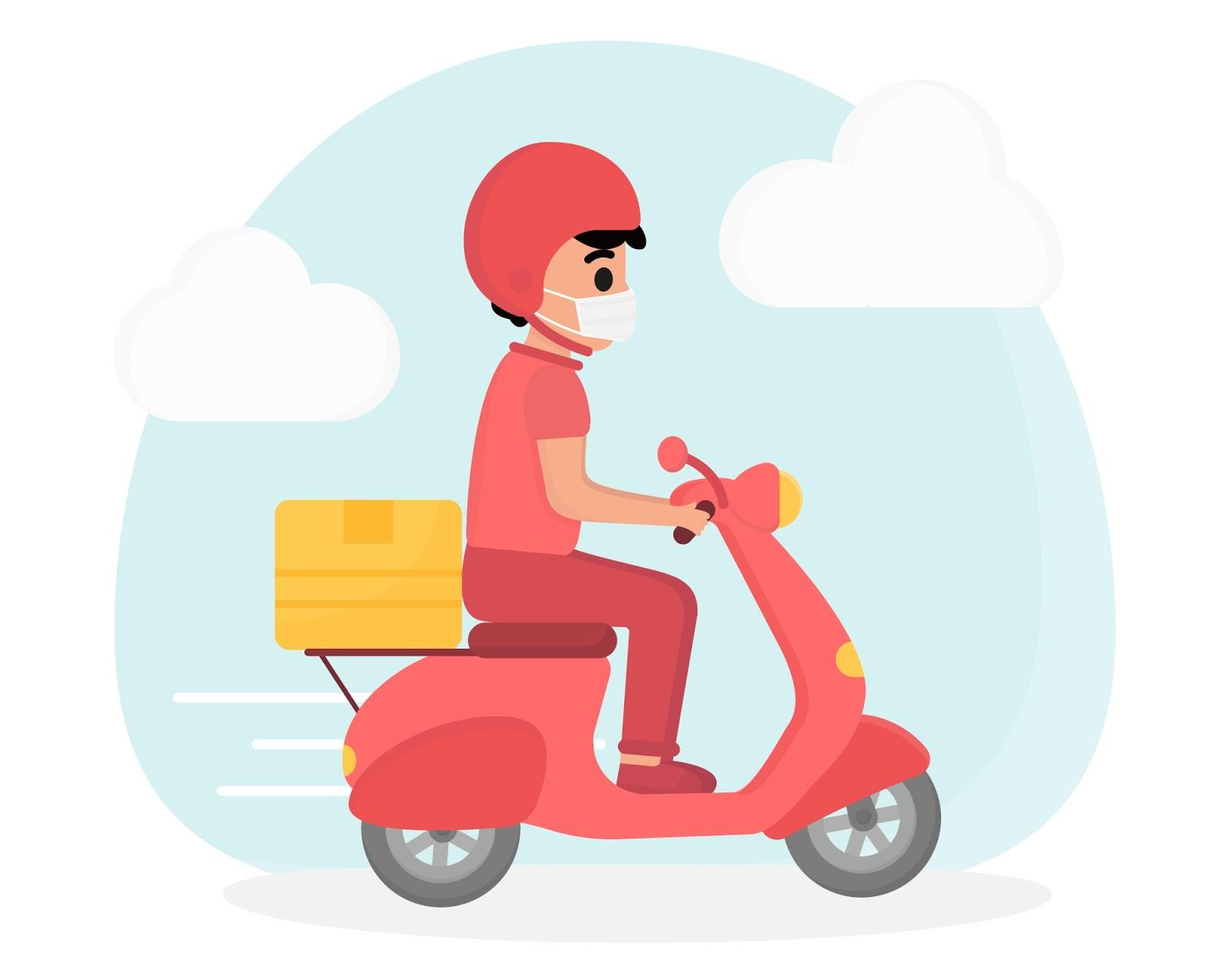Cách gửi hàng cho khách khi bán hàng online bằng thuê shipper bên ngoài