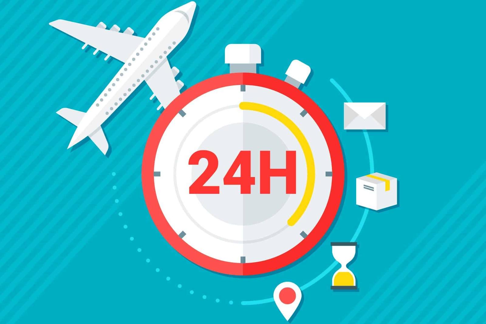 Thời gian gửi của dịch vụ chuyển phát nhanh trong ngàycần đi kèmđộ an toànhàng hóa
