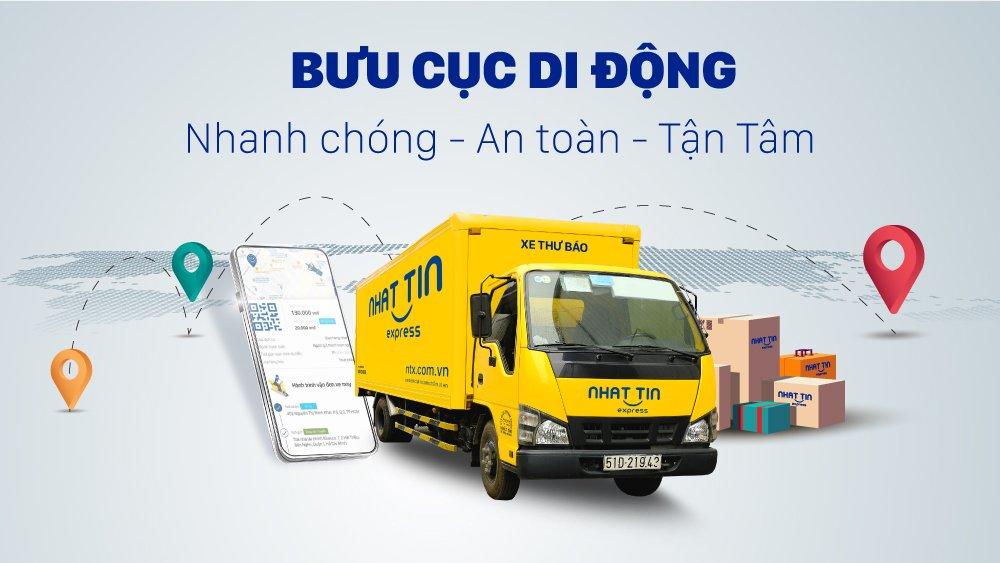 Dịch vụ chuyển phát nhanh trong ngày uy tín nhanh chóng với mô hình bưu cục di động hiện đại
