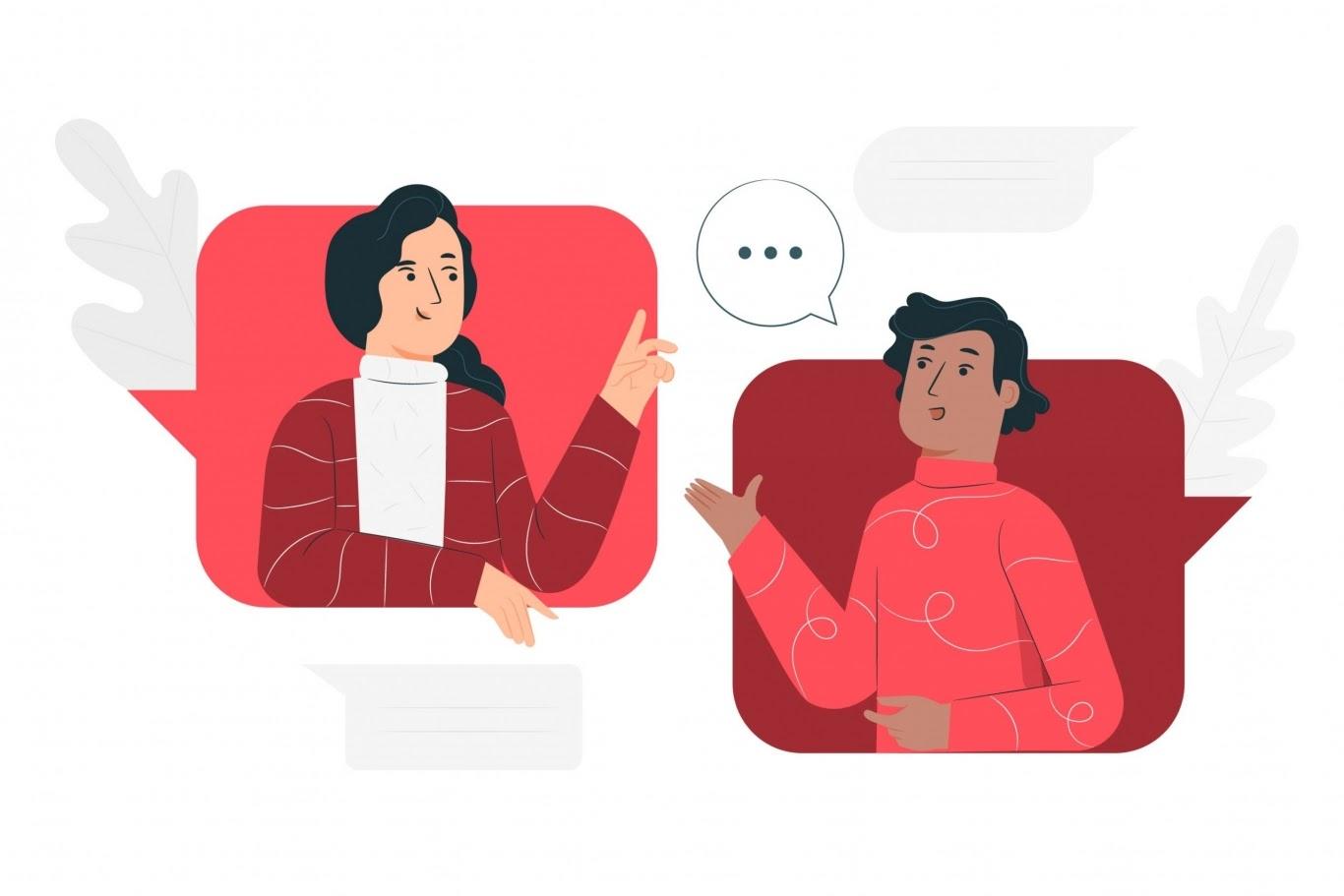 Thái độ lịch sự, thân thiện khi trò chuyện cùng khách hàng khi giao nhận hàng hóa