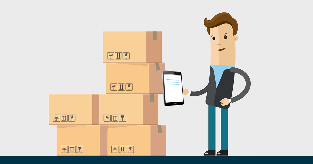 Kiểm tra hàng hóa trước khi gửi hàng cho đơn vị giao hàng nhanh