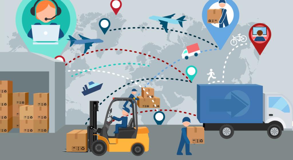 Vận chuyển hàng hóa kết hợp nhiều phương tiện rút ngắn thời gian chuyển phát nhanh nội địa giá rẻ