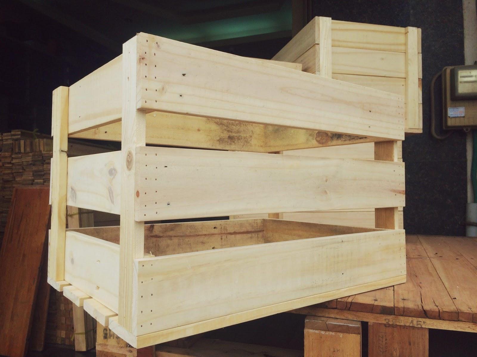 Đóng hàng gỗ khi gửi hành nhanh tại NTX - Nhất Tín Express