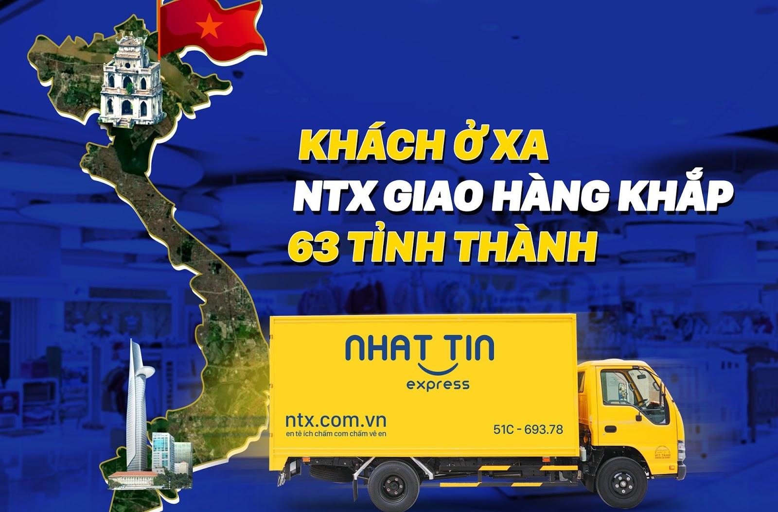 dịch vụ giao hàng chất lượng, giá cước tốt, uy tín, tận tâm của NTX - Nhất Tín Express