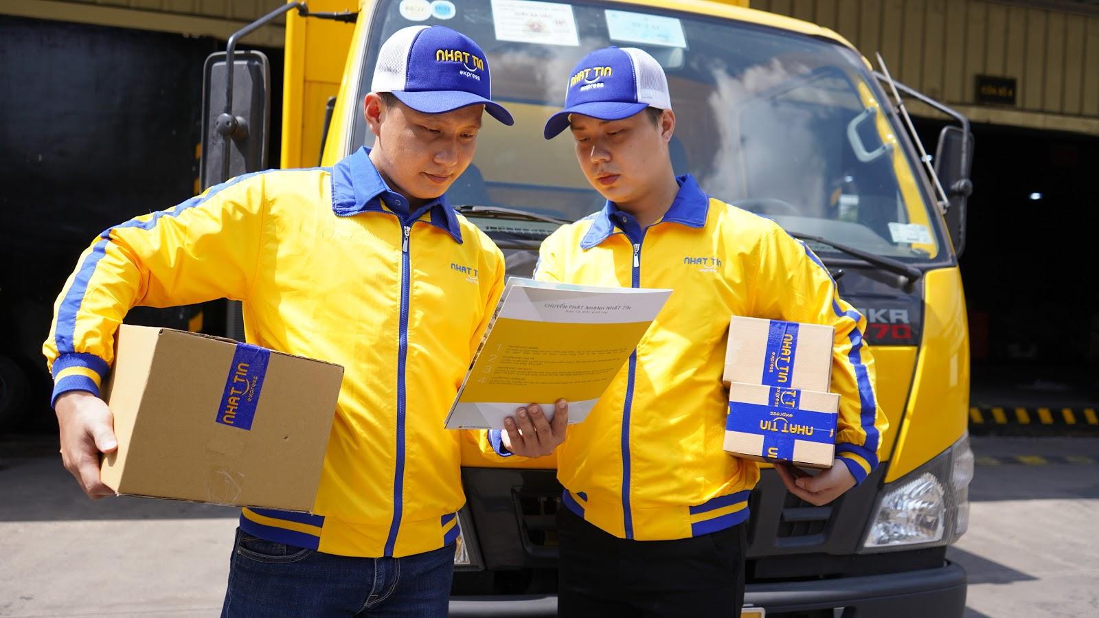 dịch vụ chuyển phát nhanh giá rẻ tphcm Nhất Tín Express