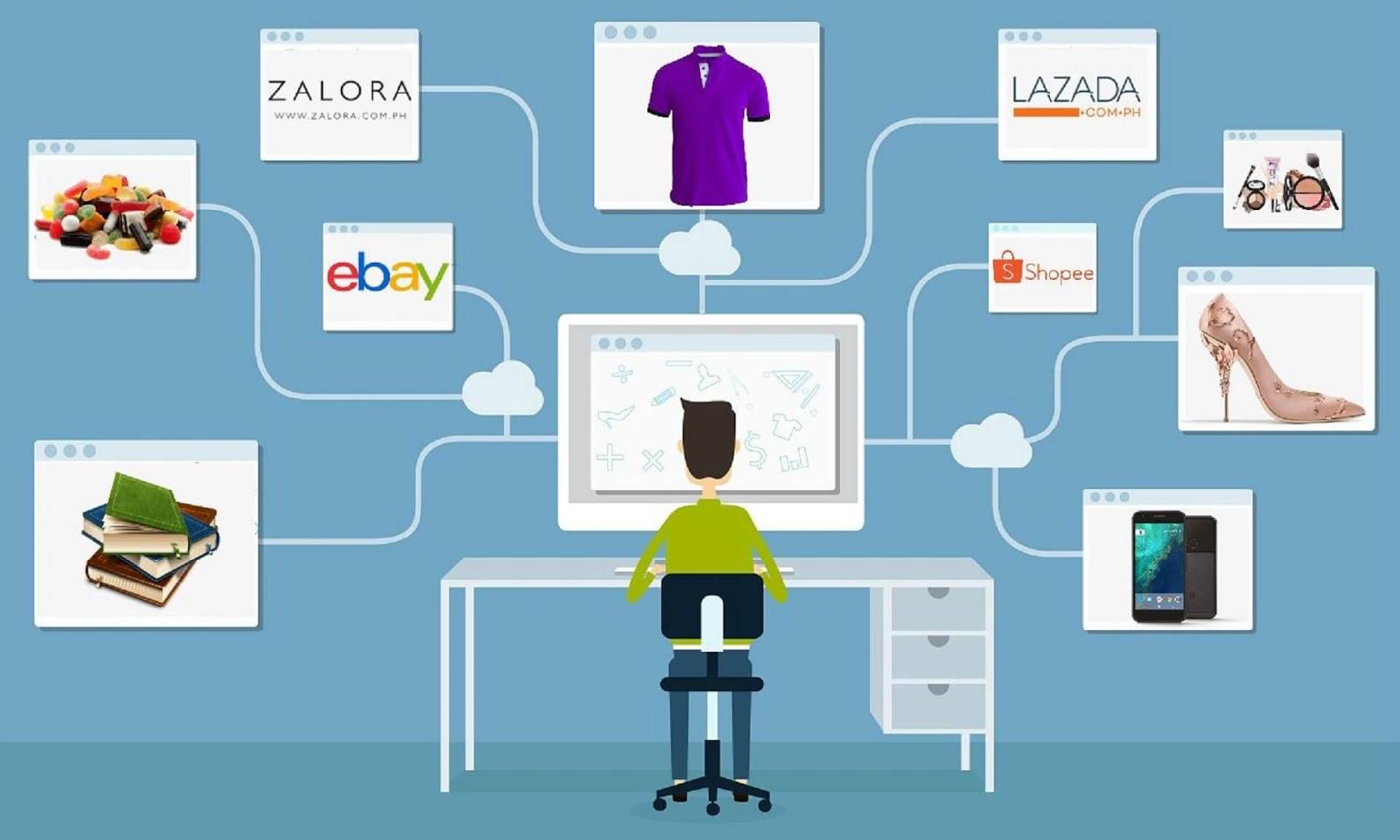 xu hướng kinh doanh online ảnh hưởng gì đến dịch vụ gửi hàng đi Hà Nội