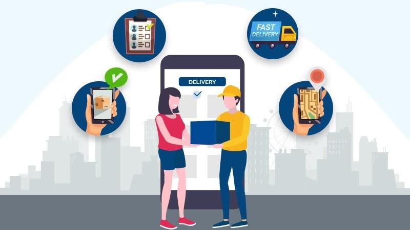 Ứng dụng công nghệ vào dịch vụ vận chuyển hàng hóa liên tỉnh
