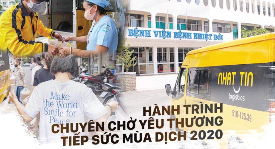 Nhất Tín Logistics tiếp sức đội ngũ y tế Bệnh viện Nhiệt đới TPHCM giữa tâm dịch COVID-19