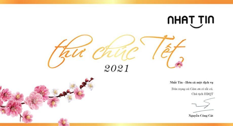 Thư chúc Tết Tân Sửu 2021 của Chủ tịch HĐQT Nhất Tín