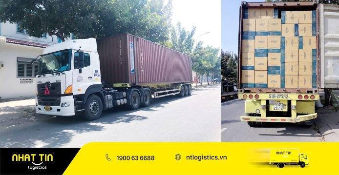 Nhất Tín Logistics - Tâm thế vững vàng, sẵn sangd lăng bánh mùa COVID