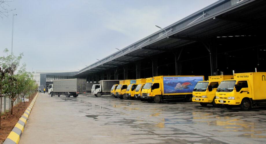 Vận hành Trung tâm khai thác chia chọn lớn nhất miền Bắc của Nhất Tín Logistics
