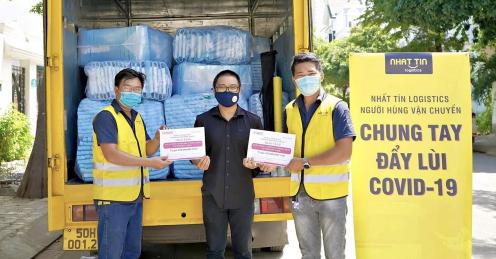 Nhất Tín Logistics chung tay cùng cộng đồng trong đại dịch